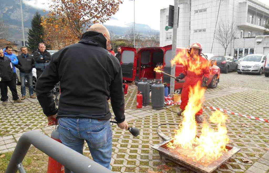 Corso antincendio Fiavè 2018