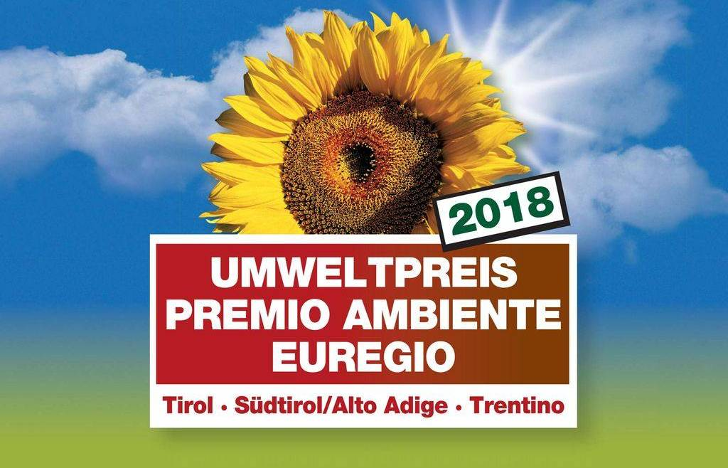 Premio Ambiente Euregio Tirol – Alto Adige – Trentino 2018