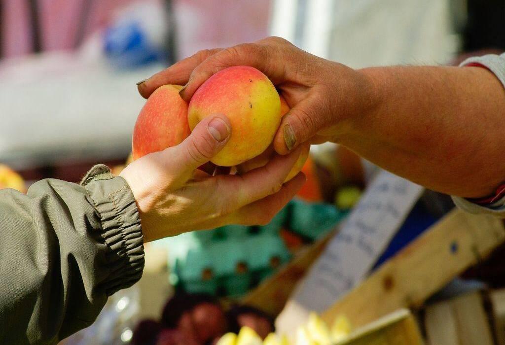 cia-trentino - scambio mele