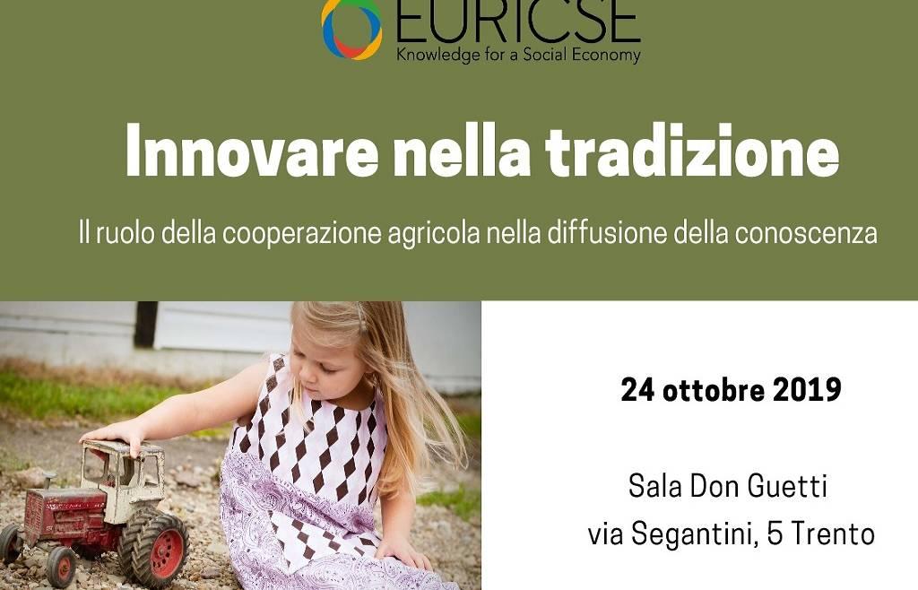 """Convegno Euricse """"Innovare nella tradizione"""""""