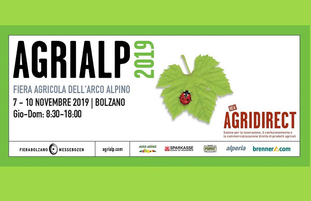 Agrialp 2019: sconto Cia Trentino