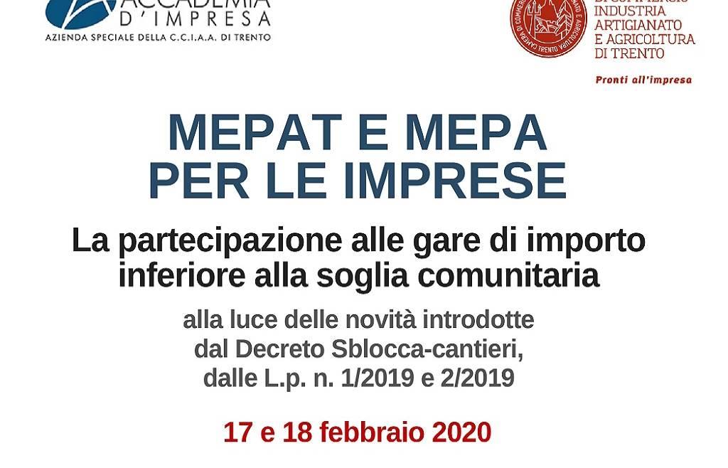 Incontri su MEPAT e MEPA per le imprese