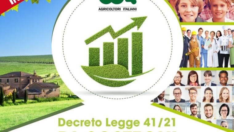 Dl Sostegni. Webinar gratuito sulle misure di intervento per il mondo agricolo e non solo