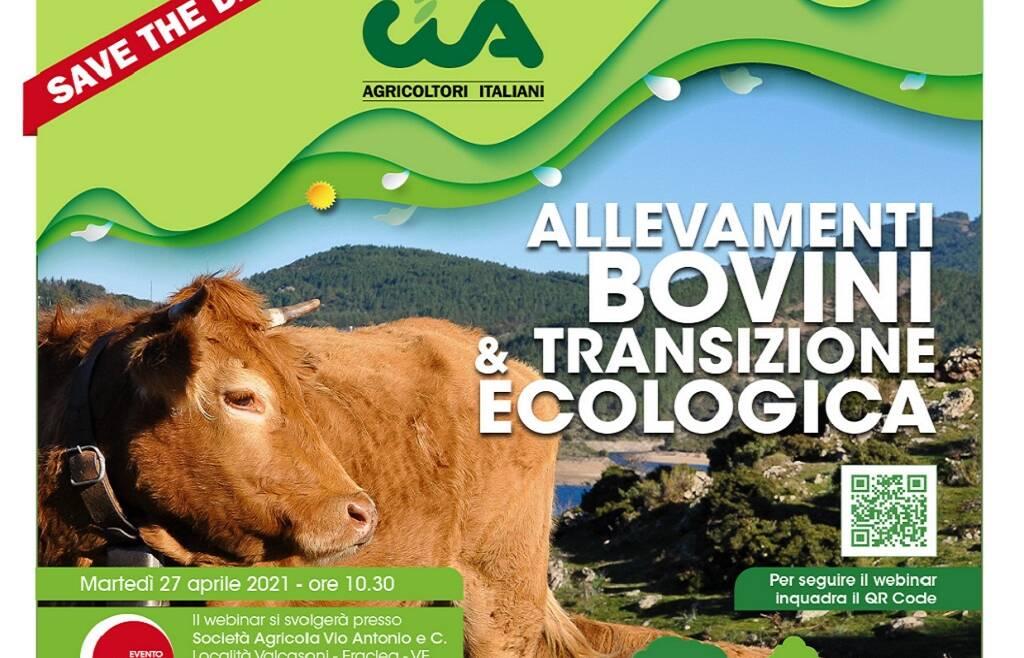 Webinar Allevamenti bovini e transizione ecologica