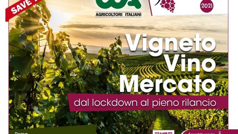 """webinar  """"Vigneti, vino, mercato: dal lockdown al pieno rilancio"""""""