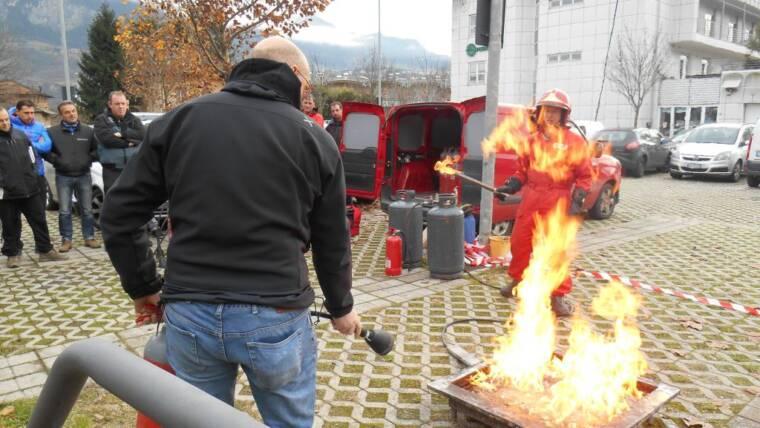 Corsi addetti alle emergenze Antincendio