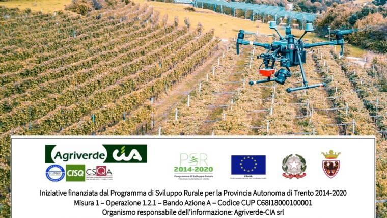 corso DRONI IN AGRICOLTURA. OPPORTUNITA' E FALSI MITI